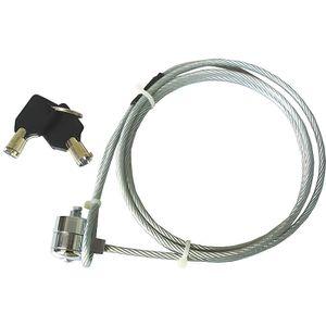 SYSTÈME ANTIVOL  Cable Antivol pour PC portable 1.2m