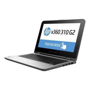 ORDINATEUR PORTABLE HP x360 310 G2 Conception inclinable Celeron N3050