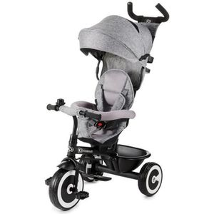 POUSSETTE  KINDERKRAFT - Tricycle Évolutif ASTON gris - dès 9