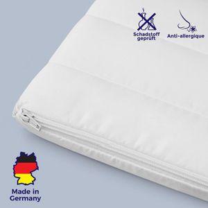 SUR-MATELAS Surmatelas 120x190 mousse confort housse microfibr