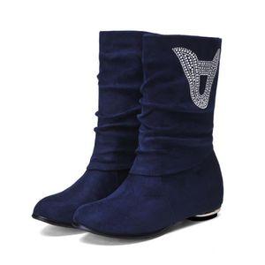 martin boots-Pure Color Low Heel Women Inside I... 2D2pMQsq