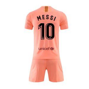 14921c7a075 MAILLOT DE FOOTBALL Barca Lionel Messi Maillot et Shorts de Football E