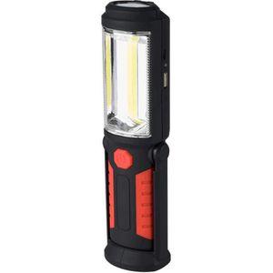 LAMPE DE POCHE Lampe Torche Aimantée Rechargeable LED COB 3W 360L