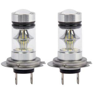 PHARES - OPTIQUES 1 paire LED de haute puissance H7 ampoule 100W 20L