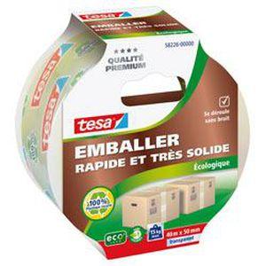 ADHÉSIF TESA Ruban adhésif d'emballage carton ecoLogo - 40