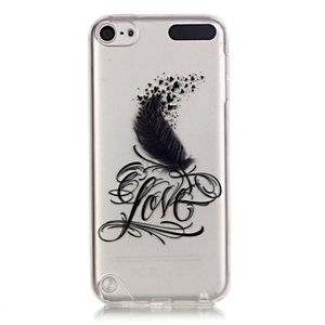 COQUE MP3-MP4 Pour Apple iPod touch 5 6,Jamie plume Coque Soft G