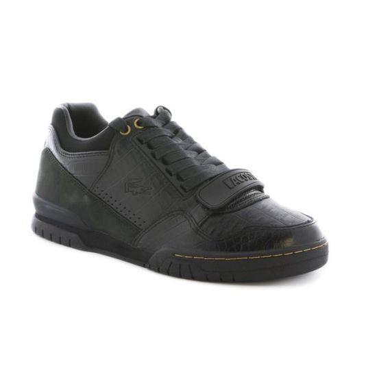 f3b3750f285 Chaussure Lacoste Missouri en cu… Noir Black - Achat   Vente basket ...