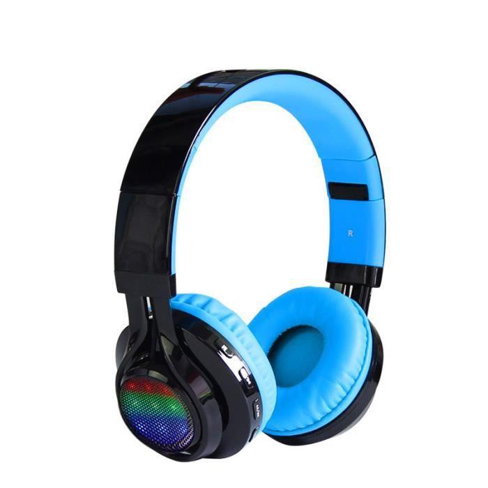 Casque d'écoute sans fil Bluetooth casque
