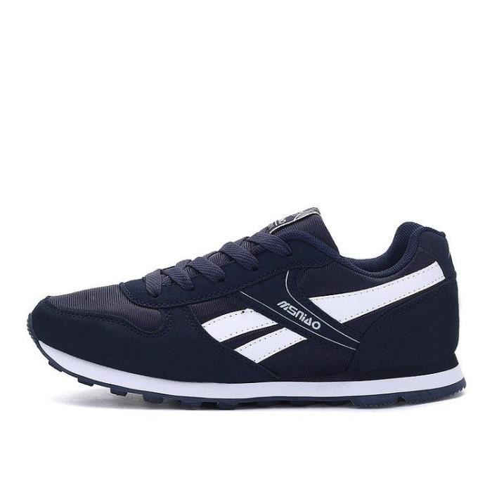 Basket Running Chic Plus Taille Gym Mode Pour Homme Bleu 42 R81456325_8217