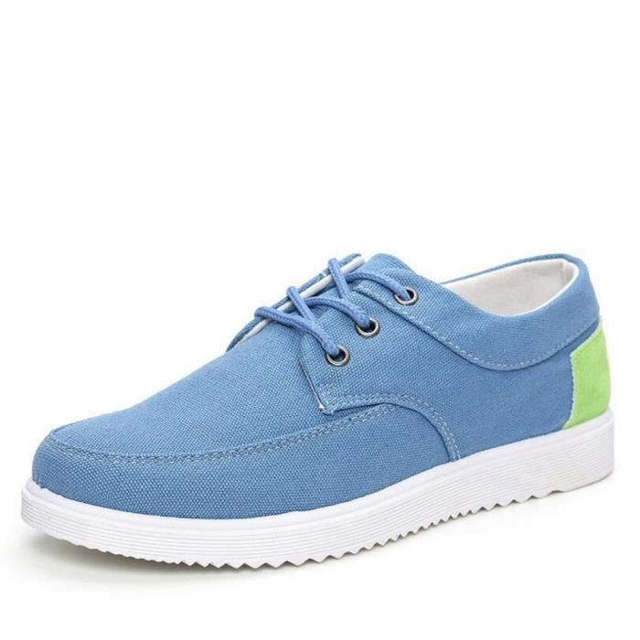 Sneaker Homme Nouvelle Mode Durable Chaussure Beau Confortable Classique Sneakers Poids Léger Haut qualité Simple Antidérapant 39-44 QRdLXd