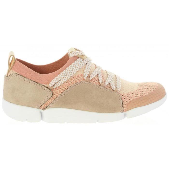Chaussures de sport pour Femme CLARKS 26131094 TRI AMELIA PINK COMBI