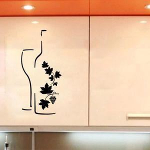 stickers muraux cuisine achat vente stickers muraux cuisine pas cher soldes d s le 10. Black Bedroom Furniture Sets. Home Design Ideas