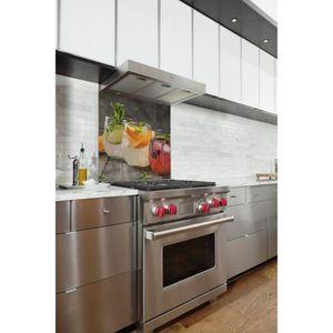 fond de hotte verre achat vente pas cher. Black Bedroom Furniture Sets. Home Design Ideas