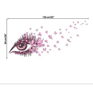 Stickers muraux papillons achat vente stickers muraux for Decoration yeux