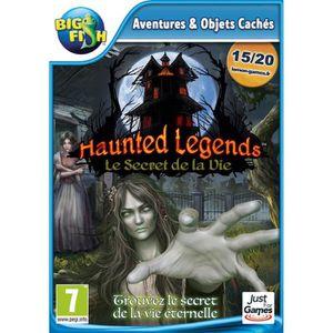 JEU PC Haunted Legends Le Secret de la Vie Jeu PC