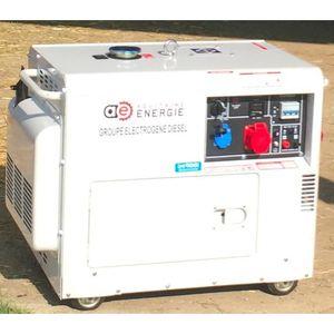 GROUPE ÉLECTROGÈNE Groupe électrogène diesel - silencieux - Puissance