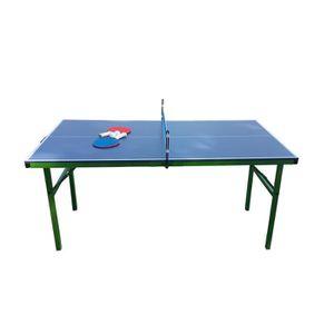 TABLE TENNIS DE TABLE Table de Ping Pong pliable et portable - Bleue aux
