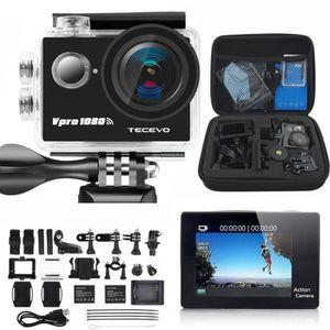 CAMÉRA SPORT Caméra sport HD Ultra Grand Angle de 170 degrés Fu