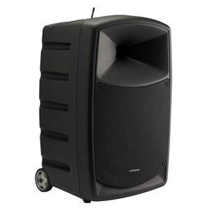 ENCEINTE ET RETOUR CR120A-U1 Sono portable120W avec Bluetooth®, lecte