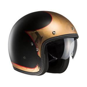 Casque moto 70's