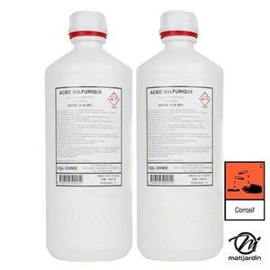 BATTERIE VÉHICULE Acide de batterie. Par 2 - Produit neuf