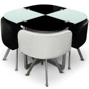 TABLE À MANGER COMPLÈTE Table Mosaic