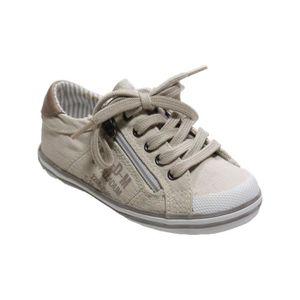 f7aba6876b104 Chaussures à lacets enfant garçon PALLADIUM Taille 25 gris été ...