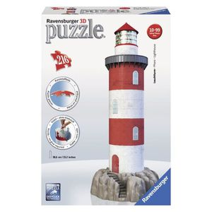 PUZZLE RAVENSBURGER Puzzle 3D Phare 216 pcs