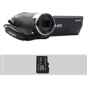 CAMÉSCOPE NUMÉRIQUE Camescope SONY Pack CX240 noir + Micro SD 8GO