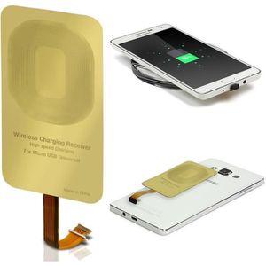 CHARGEUR TÉLÉPHONE URCOVER® Qi Récepteur de Chargement pour Smartphon