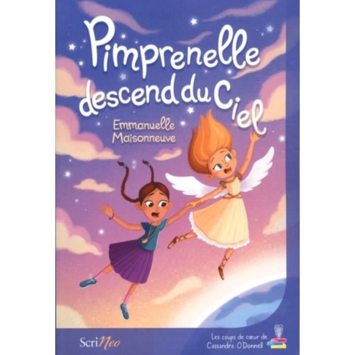 Livre 6-9 ANS Pimprenelle descend du ciel