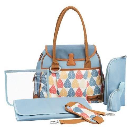 BABYMOOV Sac à Langer Style Bag Pétrole Pé