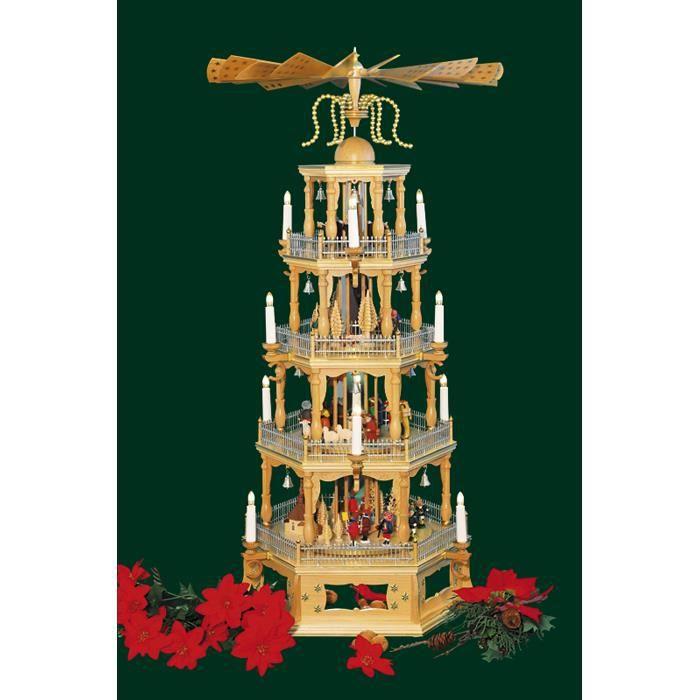 pyramide de noel Pyramide de Noël Scène de la Nativité 44 po   Achat / Vente  pyramide de noel