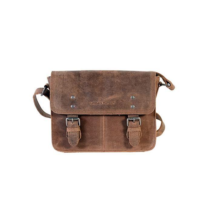 Peter cuir pour hommes 3.5 Ltrs Messenger Bag MXD4W