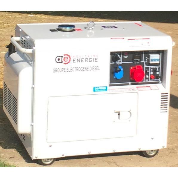 Groupe électrogène diesel - silencieux - Puissance maxi 8kva - Achat ... 00e95aaf47b