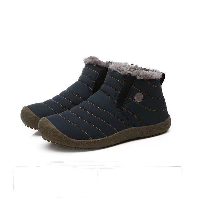 Hommes Chaussures de neige d'hiver Chaussures de cheville légères Bottes de pluie Chaussures de pluie imperméables chaudes 2017