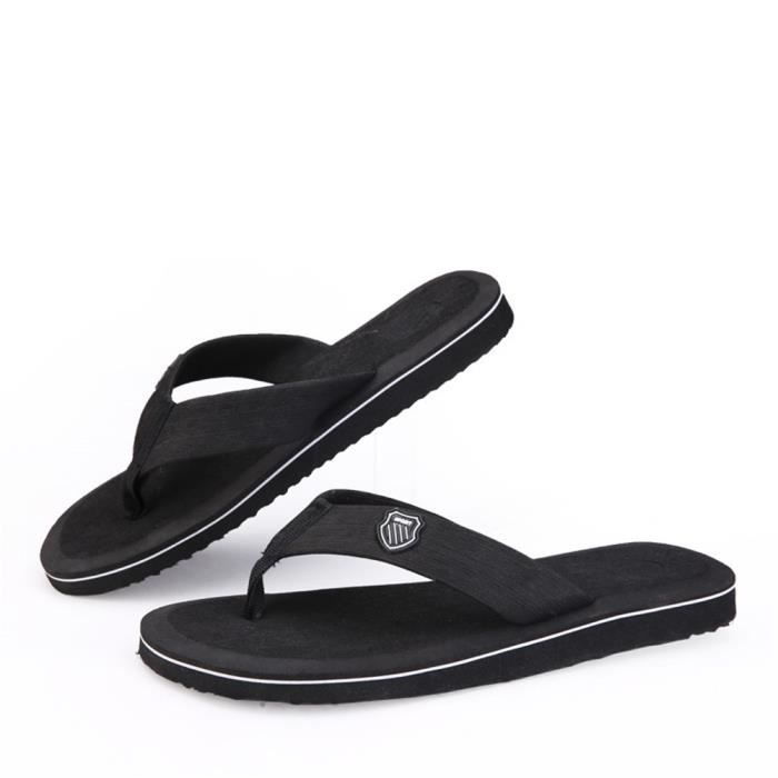 hommes sandales sandales plages homme nouvelle marque de luxe pantoufle salle de bain sandales en cuir rétro chaussure plage 2017 JlpTVkTNdJ