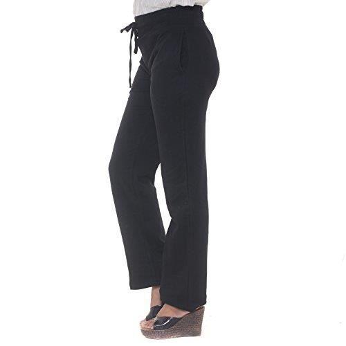Pantalon de survêtement des femmes (Tailles S à 4XL) pleine longueur et  Tailles (noir) 1MIUGP Taille-34 557e3f98a32