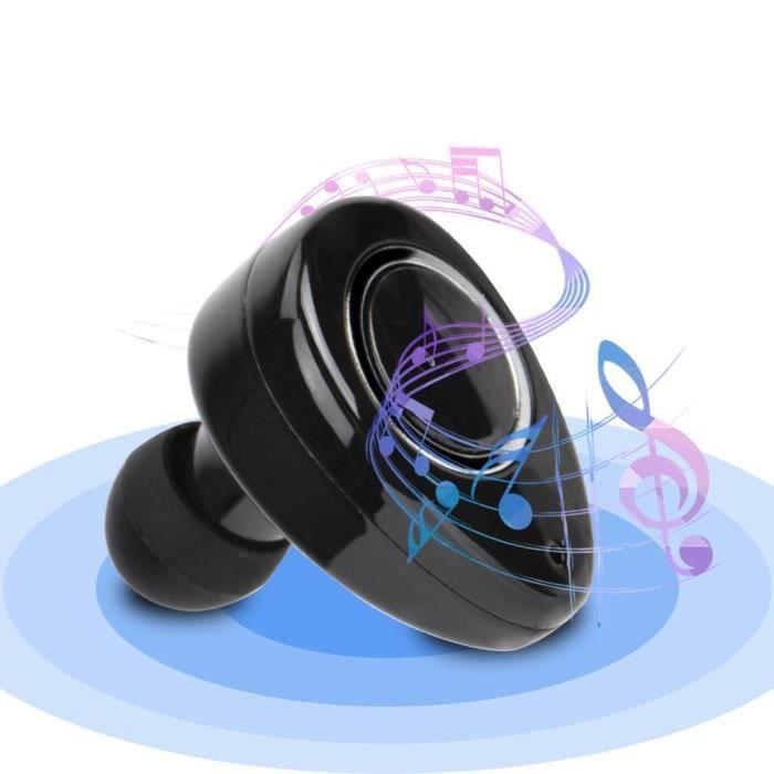 Mini Sport Sans Fil En Cours D'exécution Double Oreille Stéréo Bluetooth Casque Écouteurs-boe