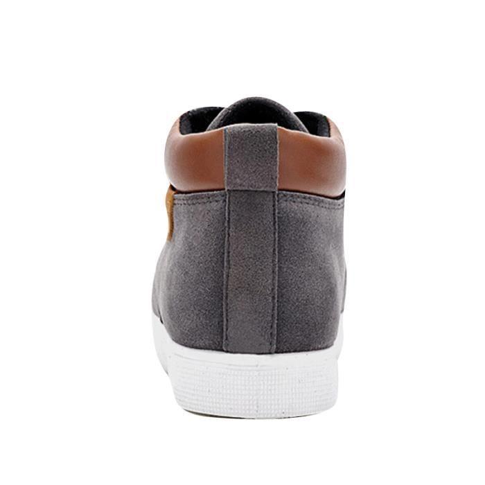 Chaussures En Toile Hommes Basses Quatre Saisons Classique LKG-XZ116Gris40