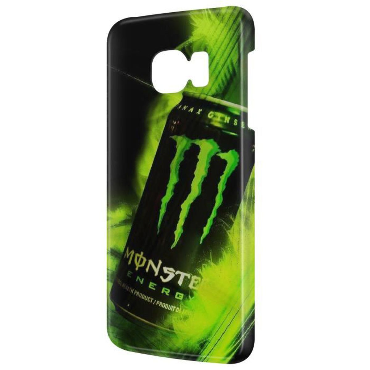Coque Galaxy S7 Edge Monster Energy Canette Green