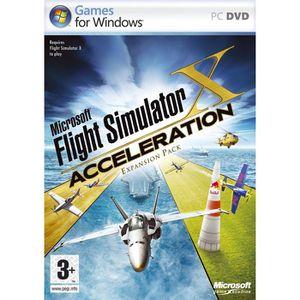 JEU PC FLIGHT SIMULATOR X ACCELERATION (EXPANSION PACK) /