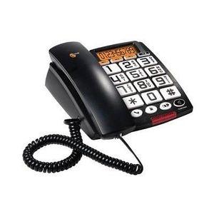 Téléphone fixe TELEPHONE FIXE GROSSES TOUCHES CLAVIER ECRAN LCD S