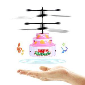 DRONE Gâteau volant jouets rc jouet pour enfants recharg