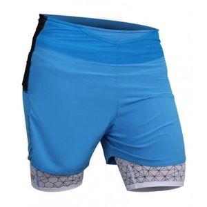 CYCLISTE DE RUNNING Short Running RAIDLIGHT Homme Ultralight Bleu Elec ... 99cf4287a82