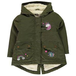 Filles Coton Zencart Vestes D'hiver Enfants Parkas Manteau dwxfxqXHP
