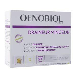 COMPLÉMENT MINCEUR draineur minceur the vert 21 sticks OENOBIOL