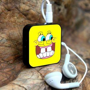 MP3 ENFANT Cute SpongeBob  Mini lecteur MP3 + USB avec écoute