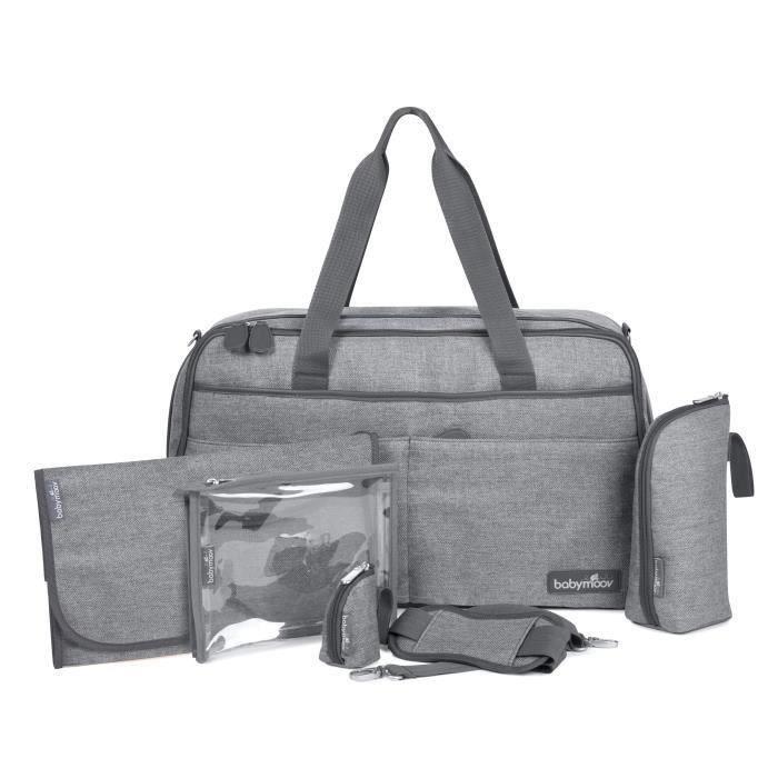 BABYMOOV Sac à Langer Traveller Bag Smokey