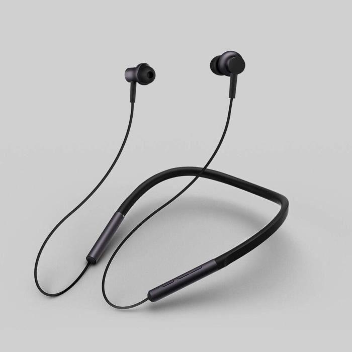 XIAOMI Mi Ecouteurs Neckband Bluetooth - 8h d'autonomie